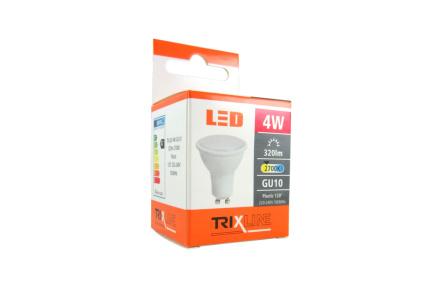 LED žiarovka BC TR 4W GU10 teplá biela