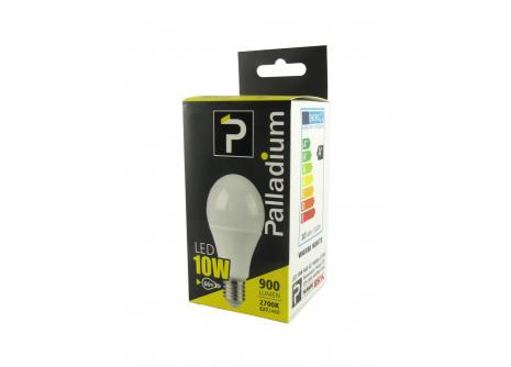 LED žiarovka Palladium 10W A60 E27 teplá biela