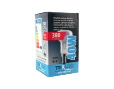 Špeciálna žiarovka BC LUX R50 40W E14 teplá biela