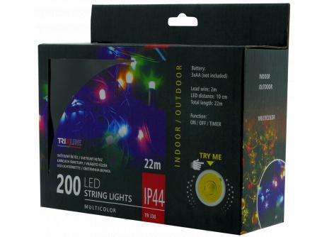 Vianočná LED reťaz TR 338 multicolor