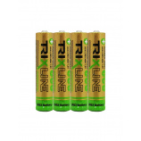 Alkalická mikrotužková 1,5V batéria BCRL03/4P TRIXLINE