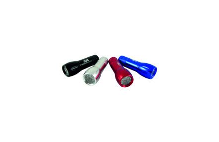 LED hliníkové ručné svietidlo BCS 193 9 LED