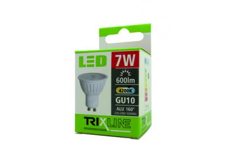 LED žiarovka BC TR 7W GU10 neutrálna biela