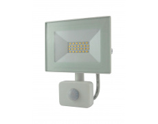 BC 20W LED FLOOD LIGHT 4200K SENSOR WHITE