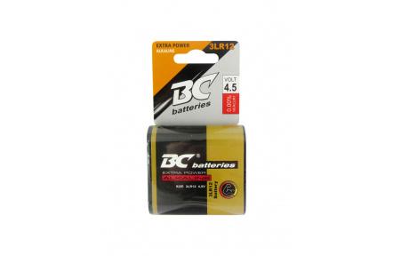 Alkalická plochá 4,5V batéria BC 3LR12/1P