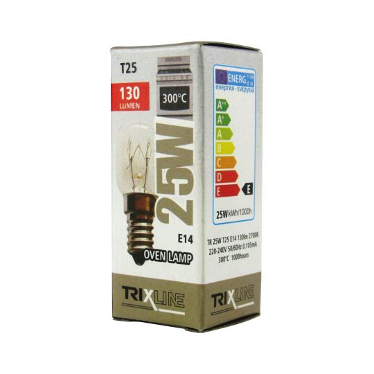 Špeciálna žiarovka BC T25, 300°C