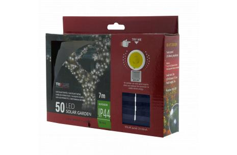 Solárna vianočná LED reťaz TR 312 studená biela