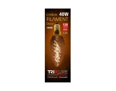 Dekoračná stmievateľná žiarovka Trixline 40W E27 (C35-T)