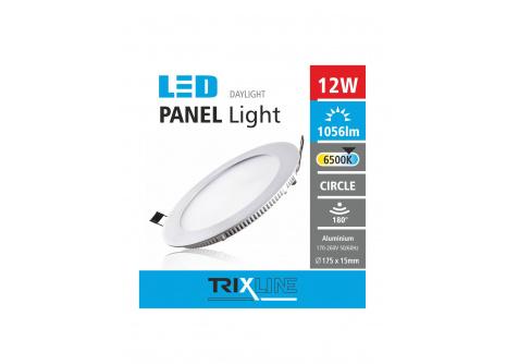 Podhľadové LED svietidlo TRIXLINE – okrúhle 12W
