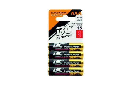 Alkalická mikrotužková batéria BCLR03/4P