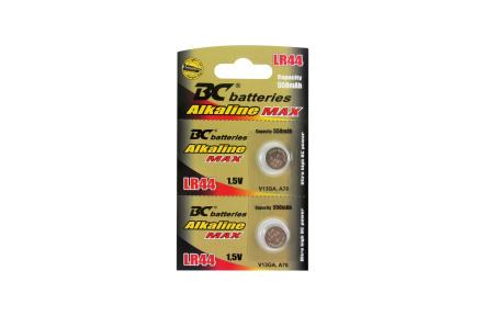 Alkalická 1,5V gombíková batéria BCLR44/2BP
