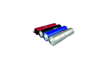LED hliníkové ručné svietidlo BCS 192 1LED 0,5W