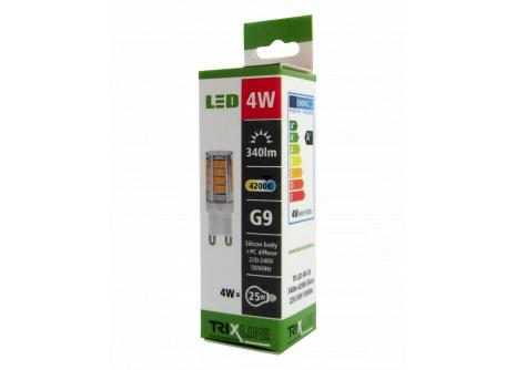 LED žiarovka BC TR 4W G9 neutrálna biela