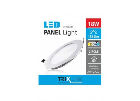 Podhľadové LED svietidlo TRIXLINE – okrúhle 18W