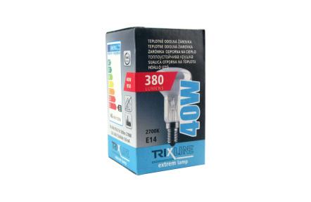 Špeciálna žiarovka BC R50 40W E14 teplá biela