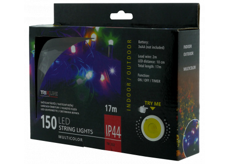 Vianočná LED reťaz TR 332 multicolor