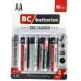 Zinkochloridová 1,5 tužková batéria R6/4P
