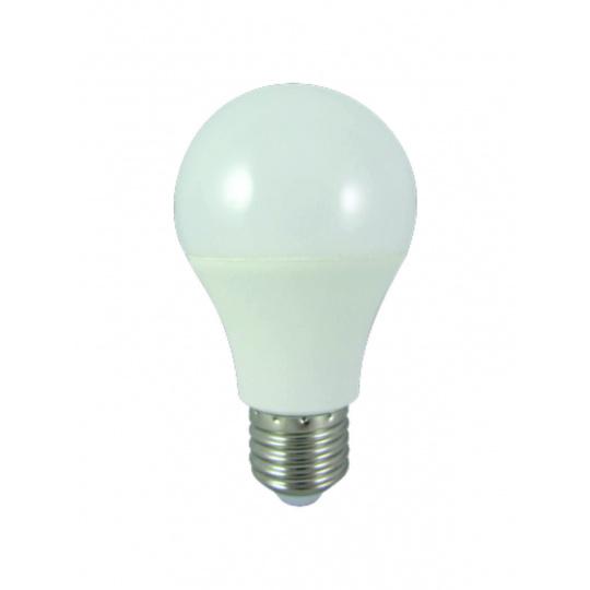 LED žiarovka 8W E27 A60 studená biela