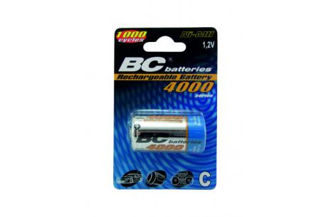 Nabíjateľný 1,2V malý monočlánok BCR14/4000/2BP