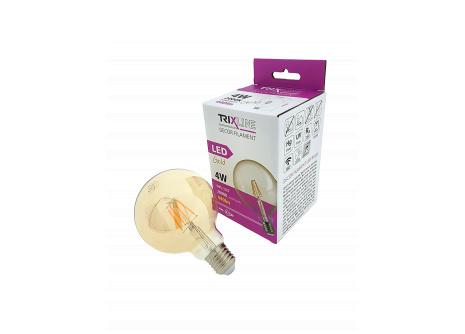 Dekoračná LED žiarovka FILAMENT Trixline 4W G-95 E27