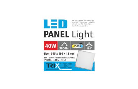 Podhľadový LED panel TRIXLINE - 40W studená biela
