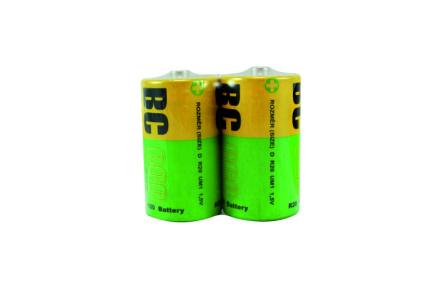 Zinkochloridový veľký 1,5V monočlánok BC R20/2P BC ECO
