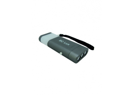 BC 6 LED Flashlight - 3+3LED 2v1 šedá