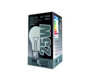 Špeciálna žiarovka BC 25W E27 teplá biela