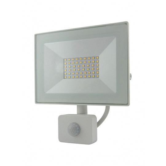 BC 30W LED FLOOD LIGHT 4200K SENSOR WHITE
