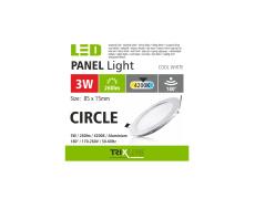 Podhľadové LED svietidlo TRIXLINE – okrúhle 3W