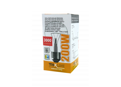 Špeciálna žiarovka BC LUX 200W E27 teplá biela