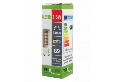 LED žiarovka BC TR 3,5W G9 neutrálna biela
