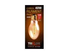 Dekoračná stmievateľná žiarovka Trixline 40W E27 (B53-S32)