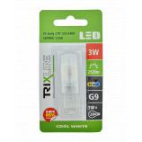 LED žiarovka BC TR 3W G9 neutrálna biela