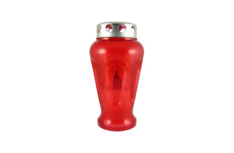 Náhrobná LED sviečka veľká váza