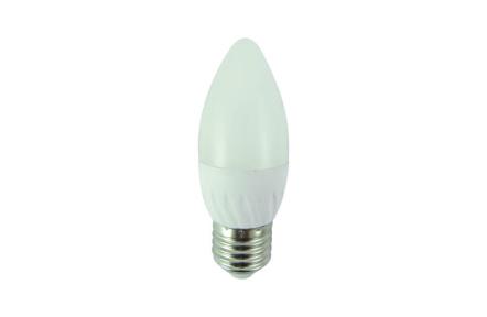 LED žiarovka 6W C35 E27 neutrálna biela
