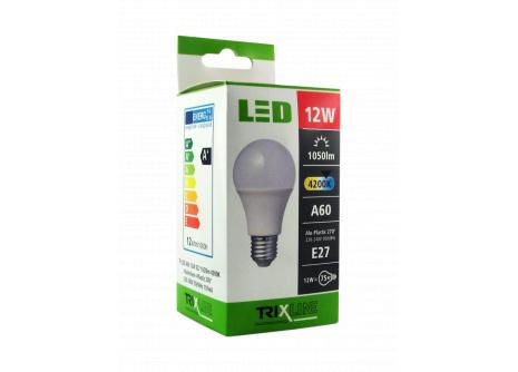 LED žiarovka BC TR 12W E27 A60 neutrálna biela