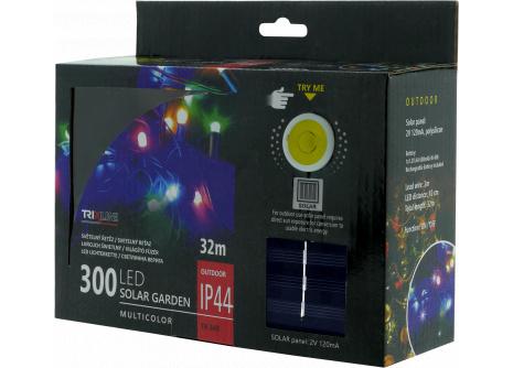 Solárna vianočná LED reťaz TR 349 multicolor