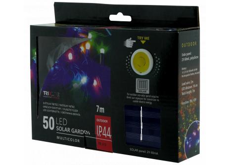 Solárna vianočná LED reťaz TR 313 multicolor