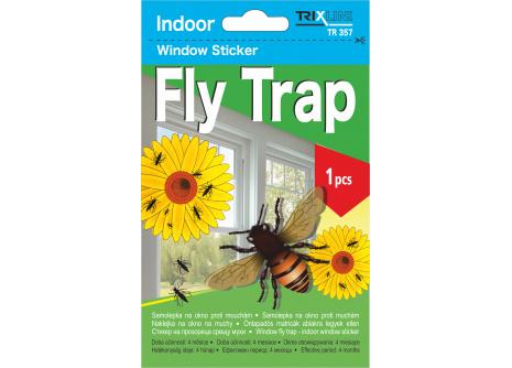 Samolepka na okno Fly Trap TR 357