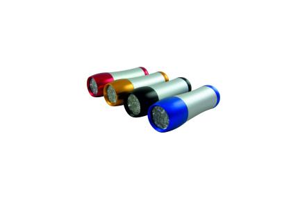 Ručné 9 LED hliníkové svietidlo