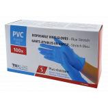Jednorázové rukavice Trixline TR G400 - vinil/nitril velikost S