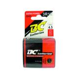 Zinkochloridová 4,5V plochá batéria BC 3R12/1P