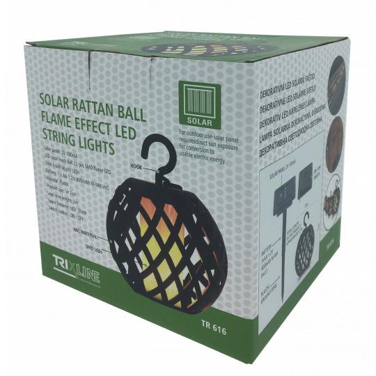 Dekorativní LED solární světlo TR 616