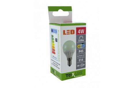 LED žiarovka BC TR 4W E14 P45 neutrálna biela