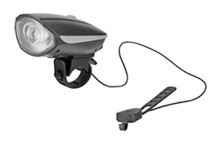LED cyklo svietidlo predné 5W TR 325