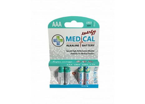 Medical alkalická AAA  baterie 1,5V  LR03
