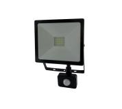 LED SENSOR reflektor TRIXLINE - 30W studená biela