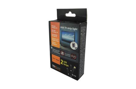 Diaľkovo ovladaný LED RGB pásik pre TV/PC