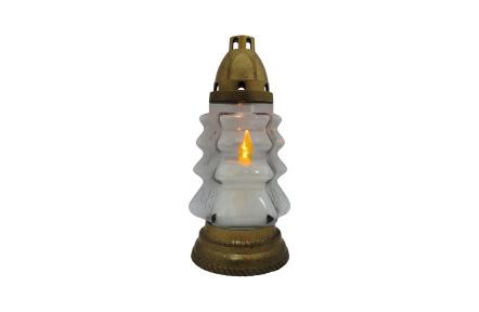 Náhrobná sviečka LED BC 190 TREE